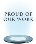 Take great pride in our work
