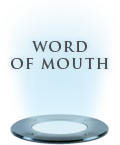 Word of mouth recommendations
